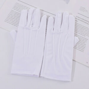 1Pair Lady Protection Gloves Elastic Sunscreen Spandex Waist Gloves Mittens