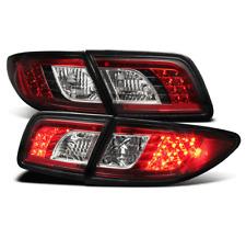 2003 2008 Mazda 6 4dr5dr Led Rear Tail Brake Lights Lamp Red Black Set Pair New Fits Mazda 6
