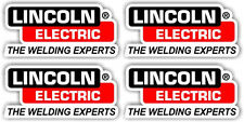 "2.5""4 Pack Lincoln Electric Welder Decal Truck Window Bumper USA tool box"