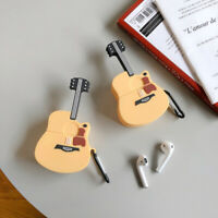 Creative Guitar for AirPods Pro Case Cover  2 3Gen Wireless Headset Box Holder