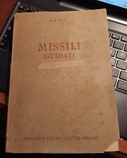 Missili guidati-a.r. weyl-sperling e kupfer 1942