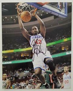 Elton Brand Signed 8x10 Photo NBA Philadelphia 76ers Sixers RAD