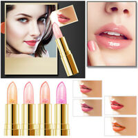 New Magic Jelly Lipstick Color Changing Transparent Flower Gold Flakes Lip Gloss