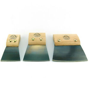 Parkettziehklinge 60 / 90 / 120 mm Ziehklinge mit breiter Fase gehärteter Stahl