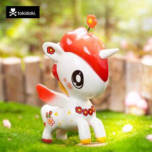 "2021 Tokidoki Unicorno Red Flower 5"" Figure China Exclusive Edition"