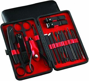 Manicure Set - Pedicure Tools and Nail Clippers -Nail Care Tools - 18 Pieces