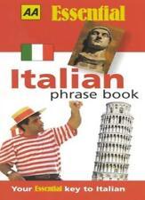 Italian Phrase Book (Aa Essential Phrase Book) By Berners