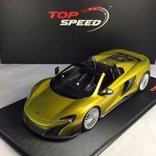 1/18 TSM Top Speed #TS0071 McLaren 675LT Spider Solis