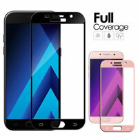 For Samsung Galaxy A3 A5 A7 2016/2017 Full Cover Temper Glass Screen Protector