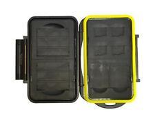 JJC MC-CF/SD/MSD8 Rugged Waterproof Memory Card Case 2x CF / 2x SD / 4x microSD