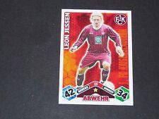 JESSEN 1.FCK KAISERSLAUTERN TOPPS ATTAX PANINI FOOTBALL BUNDESLIGA 2010-2011