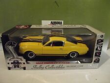 SHELBY COLLECTIBLES COBRA 1:18 YELLOW 1966 SHELBY GT 350R #DC350R4