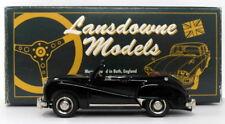 Lansdowne Models 1/43 Scale LDM9X - 1953 Austin Somerset Convertible - Black