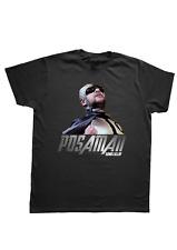 T-Shirt Maglietta Posaman Lillo Eroe Lol uomo donna bambino idea regalo nera