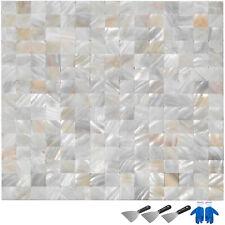 11 Sq feet Shell Mosaic Tile Mother Of Pearl Kitchen Bathroom Backsplash Tile