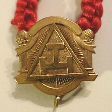 Freemason Mason HOLY ROYAL ARCH RED BRAIDED ROPE NECKLACE