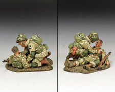 King and Country WW2 US Parachutistes Blast blessure (101st Airborne) D DAY DD287-2