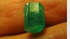 3.5ct AAA superb COLOR columbian Emerald Crystal Facet Lapidary Rough GEMstone