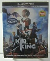 The Kid Who Would Be King 4k Ultra HD/Blu-ray/Digital 2019 Fantasy/Adventure New