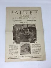 1925 Paine Furniture Company Advertising Magazine Catalog with Prices Pictures
