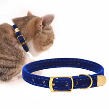 30cm Cat Collar Adjustable For Small Cats Flocking Kitten Collars Pet Supplies