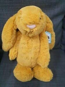 Kids Soft Toy - Jellycat Saffron Bunny Medium 31CM- Baby Kids Birthday Present!