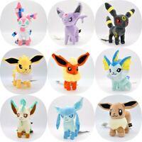 Leafeon Glaceon Eevee Umbreon Espeon Plush Doll Stuffed Animal Toy Kids Gift