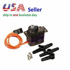 MG90S Micro Metal Gear 9g Servo (Upgraded SG90) for RC Airplane Helicopter Boat