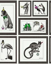 Holden Decor - Mad Dogs - Eccentric Frames - Smooth Wallpaper - 97921