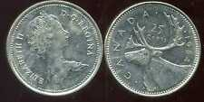 CANADA 25 cents  1984  ANM
