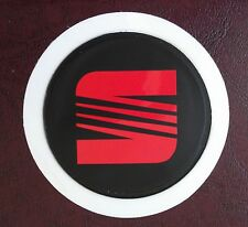 SELF CLING TAX DISC HOLDER FITS any car seat red  pb