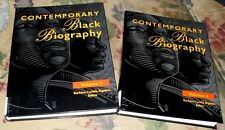 Volume 3 & 4  Contemporary Black Biography:  Profiles from the International B,,
