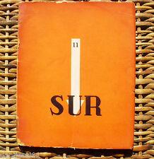 Sur, revista mensual/ Victoria Ocampo/ 1935/ no. 11