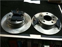 Bmw 316 Compacto 318 E46 Z4 Freno Trasero Discos & almohadillas sólido