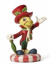 Disney Traditions Jolly Jiminy Cricket Figurine Ornament 12cm 4051974 New