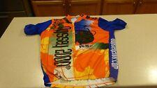 Louis Garneau Short Sleeve Cycling Bike Jersey Shirt mens sz XXL 2XL