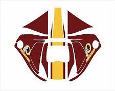 3M Speedglas 9100 V X Xx Auto Sw Jig Schweiß Helm Umwickeln Abziehbild Redskins