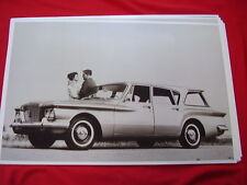 1960 PLYMOUTH VALIANT  STATION WAGEN   11 X 17  PHOTO   PICTURE