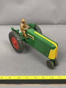 Vintage Oliver Farm Toy Tractor Row Crop 77 Slik Toy 1950's 1/16 scale