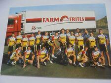 wielerkaart 1996 team tvm gazelle