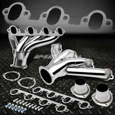 FOR 429/460 FORD BBC BIG BLOCK STAINLESS SHORTY HUGGER HEADER EXHAUST MANIFOLD
