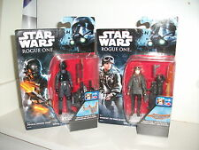 star wars IMPERIAL GROUND CREW & SERGEANT JYN ERSO rogue one JOB LOT BUNDLE