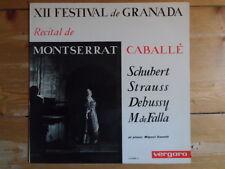 Montserrat caballe-xii festival de granada-Miguel Zanetti-Vergara Records