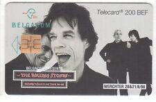 Belgium - Carte à Puce 21 - The Rolling Stones SO6 - Usagée/Used