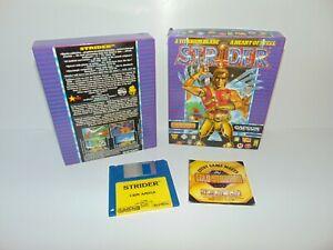 Strider 1   CBM Commodore Amiga 500 + 600 1200   Capcom US Gold 1989