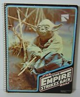 Old Vintage 1980 STAR WARS THE EMPIRE STRIKES BACK Yoda Notebook MADE IN THE USA