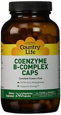 Country Life Coenzyme B Complex - 240 Capsules