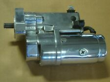 EARLY BIG DOG MOTORCYCLES 1.8kw POL & CHROME STARTER FITS 04 & OLDER TERRY