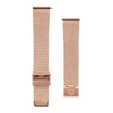 Eldon - Interchangeable Rose Gold Mesh Watch Strap - 20mm - Fits DW, MVMT