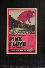 Pink Floyd 1977 Tour Poster LE STADE Canada
